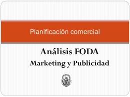 Planificación comercial - Marketing y Publicidad