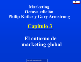 KOTCAP03 El entorno de marketing global