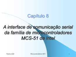 A interface de comunicação serial