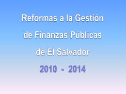 gestión de las finanzas públicas pefa