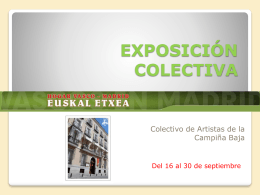 exposición colectiva - Página de los grabados de Rosa y Ambrosio