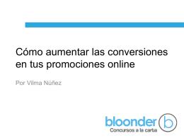 Cómo aumentar las conversiones en tus promociones