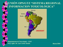 Uruguay. Dr. Luis Heuhs