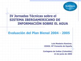 Luis Ramirez-Evaluacion del Plan Bienal 2004