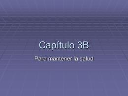 Capítulo 3B