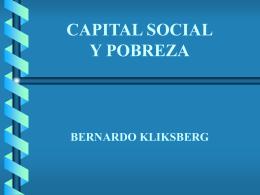 Capital Social una idea poderosa