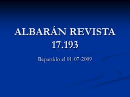 ALBARÁN REVISTA 15.569