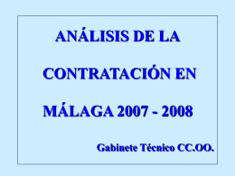 CONTRATACIÓN 2007/2008