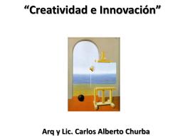 la creatividad - carloschurba