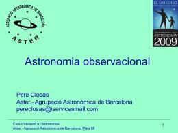 Diapositiva 1 - A través del Universo