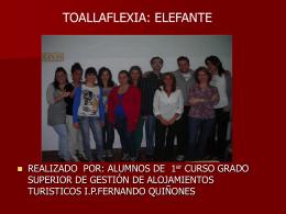 TOALLAFLEXIAS: FIGURAS