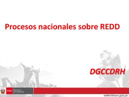 Diapositiva 1 - Grupo Redd Perú