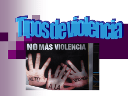 La violencia - estrellarosa
