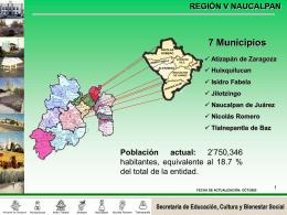 región v naucalpan - Gobierno del Estado de México