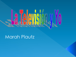 tv influence spanish