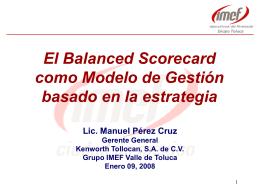 Balanced Scorecard IMEF Toluca Ene09 2007 OK