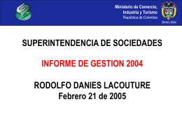 informe_Gestion_ 2004 (15) - Superintendencia de Sociedades
