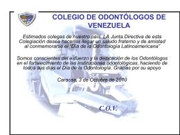 confederación odontológica de la república argentina