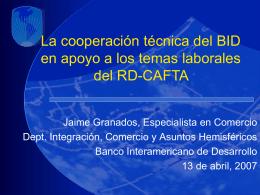 La Coordinación del Desarrollo de la Capacidad Laboral del