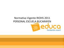 REGLAMENTO INTERNO RUCARAYEN EDUCA_PPT