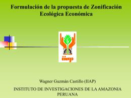 11. zonificación socioeconómica de la amazonía peruana
