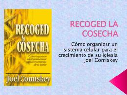 "RECOGED LA COSECHA - ministerio ""oasis de amor"""