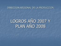 DIRECCION REGIONAL DE LA PRODUCCION