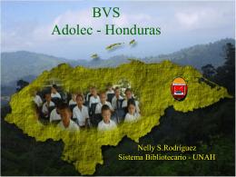 BVS Adolec Honduras