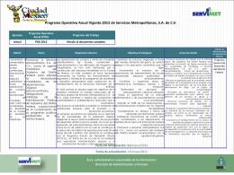 Diapositiva 1 - Ventanilla Única de Transparencia del Gobierno del
