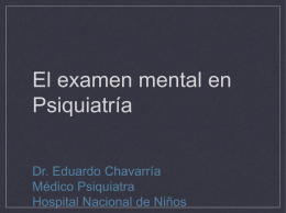 Examen Mental copia - 7mo Semestre UCIMED II-2012