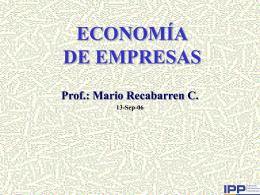Diapositivas 2 - Página de Economía