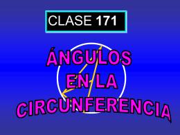 Clase 171: Ángulos en la Circunferencia
