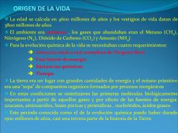 ORIGEN DE LA VIDA-12