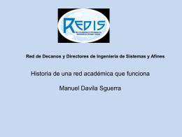 Red de Decanos y Directores de Ingeniería de Sistemas y Afines
