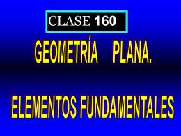 Clase 160: Geometría Plana - CubaEduca