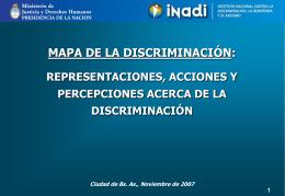 Mapas de la Discriminación
