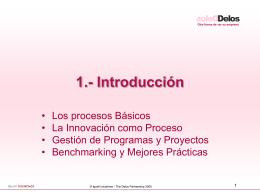 Procesos... - Delos Partnership
