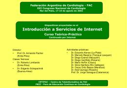 - Federación Argentina de Cardiología