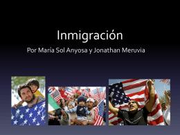 inmigración - CasadoEfolio