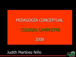 MENTEFACTO DE PEDAGOGIA CONCEPTUAL