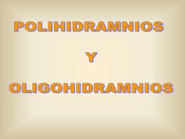 Polihidraminios y oligohidramnios
