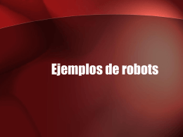 ROBOTICA - Instituto Tecnológico de Nuevo Laredo