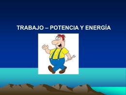 TEMA 3.4. FUERZAS CONSERVATIVAS Y NO CONSERVATIVAS