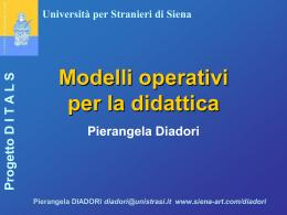 Diadori - modelli didattica - Viaggi nelle Storie