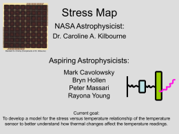 Stress Map Charts - Olin-NASA