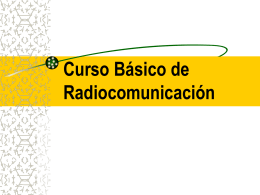 RADIOCOMUNICACION BASICA REV. OCT 08