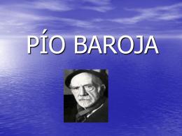 PÍO BAROJA - LenguaLiteraturaLarraona