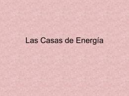 Las Casas de energia