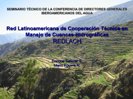 Red Latinoamericana de Cooperación Técnica en Manejo de