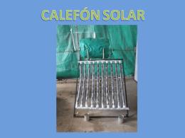 Calefon Solar Ezequiel (comprimido)